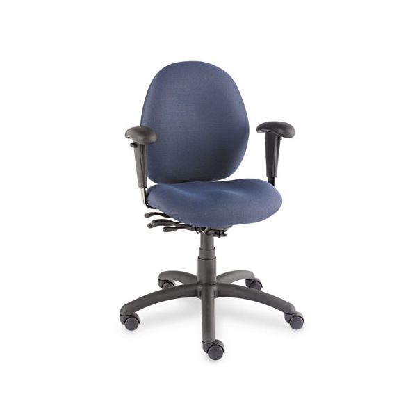 Global Malaga Low-Back Multi-Tilter Swivel Chair