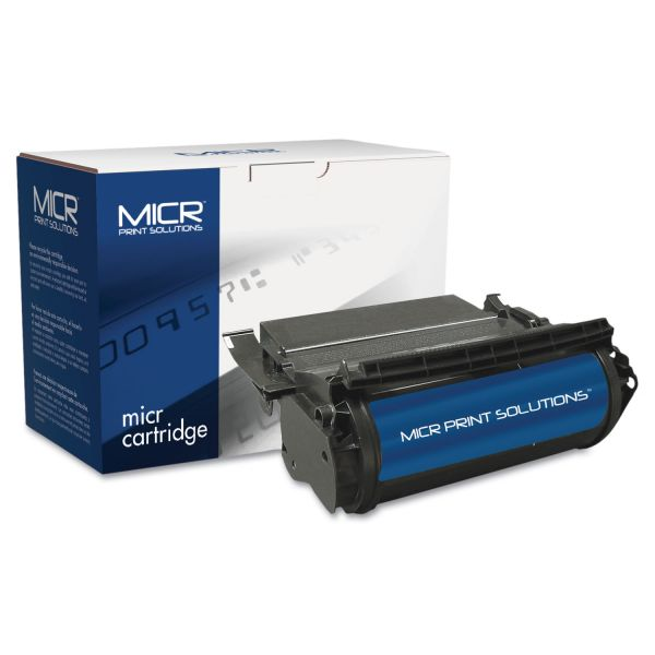 MICR Print Solutions Remanufactured Lexmark T610 MICR Toner Cartridge