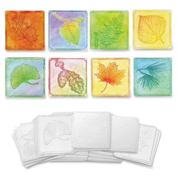 ChenilleKraft Leaf-Embossed Paper Set