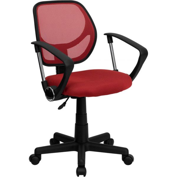 Flash Furniture Low Back Mesh Task Chair with Arms