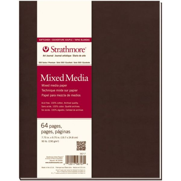 "Strathmore Mixed Media Softcover Journal 7.75""X9.75"""