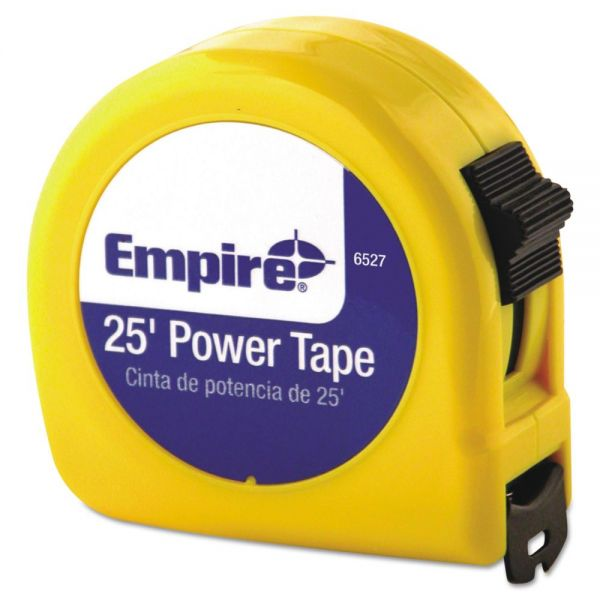 "Empire Tape Measure, 1"" x 25ft, 3-Language Packaging"