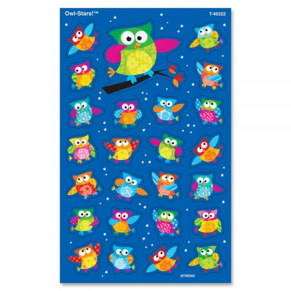Trend Owl-Stars! superShapes Stickers
