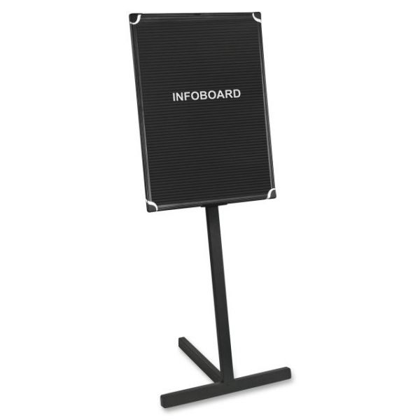 MasterVision Contemporary Standing Letter Board