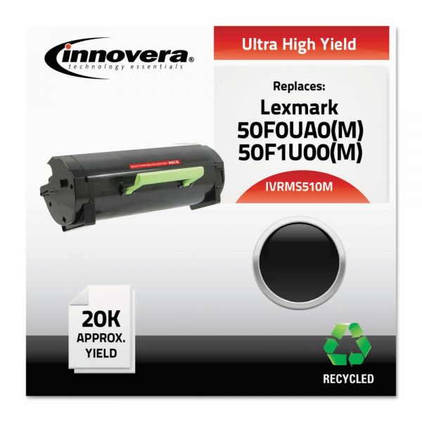 Innovera Remanufactured Lexmark 50F0UA0 Ultra High-Yield Toner Cartridge