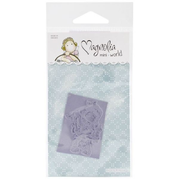 "Mini Turning Leaves Cling Stamp 2.75""X5.75"" Package"