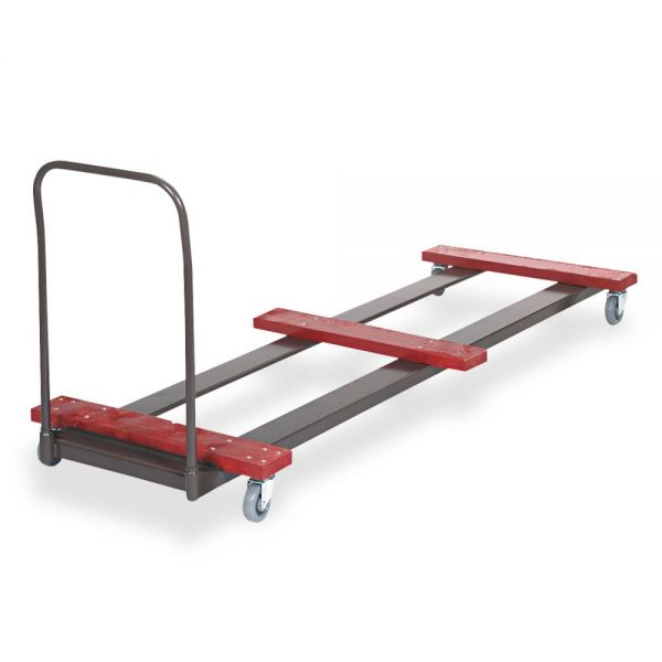 Cosco Eight-Foot Table Steel Truck Cart, 10- To 12-Table Capacity