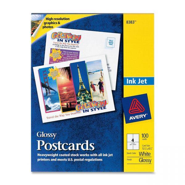 Avery 8383 Glossy Postcards