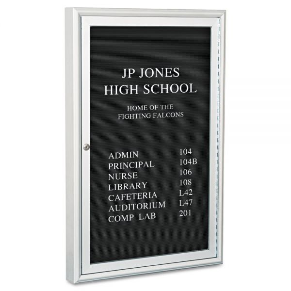 Best-Rite Enclosed Directory Board - 24x36 - Aluminum Frame