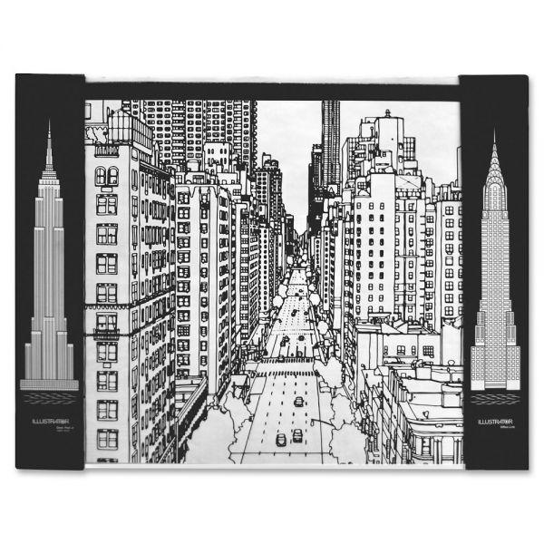 Aurora Illustrator Jr DeskPad Cityscape
