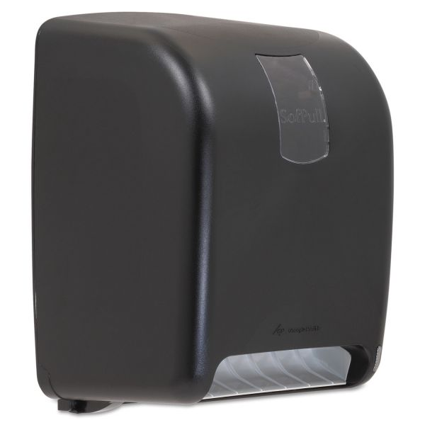 SofPull Automated Hard Roll Towel Dispenser