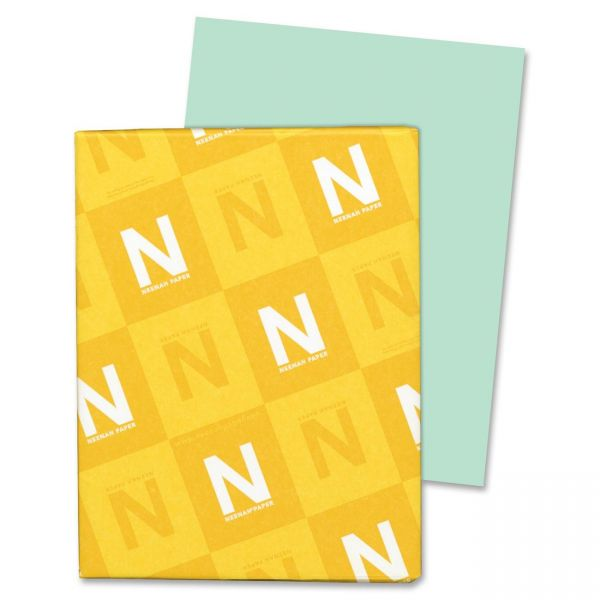 Neenah Paper Exact Index Green Colored Card Stock