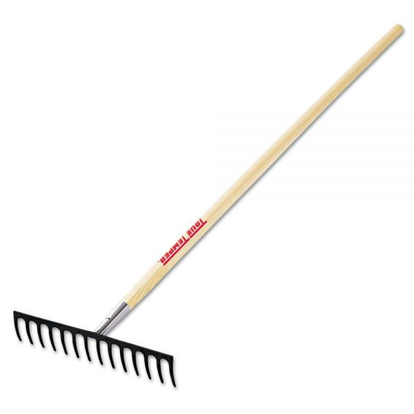 Jackson Level-Head Rake, 14 Tines, 61in Length