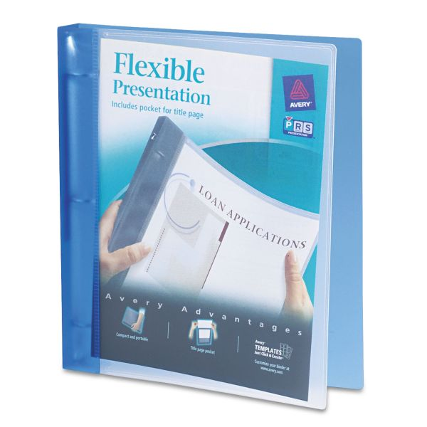 "Avery Flexible 1"" 3-Ring Presentation Binder"