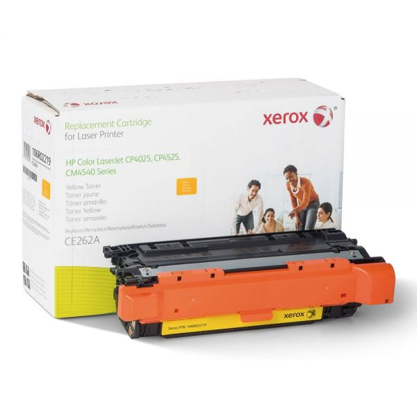 Xerox Remanufactured HP CE262A Yellow Toner Cartridge