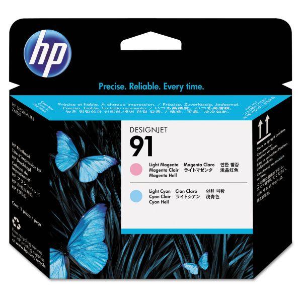 HP 91 Light Magenta/Light Cyan Printhead (C9462A)