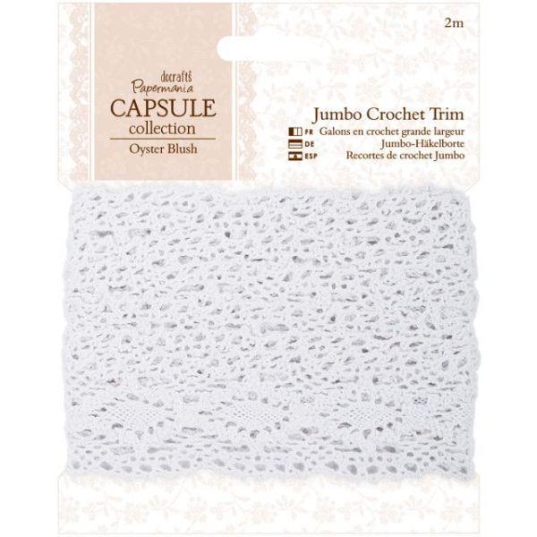 Papermania Oyster Blush Jumbo Crochet Trim