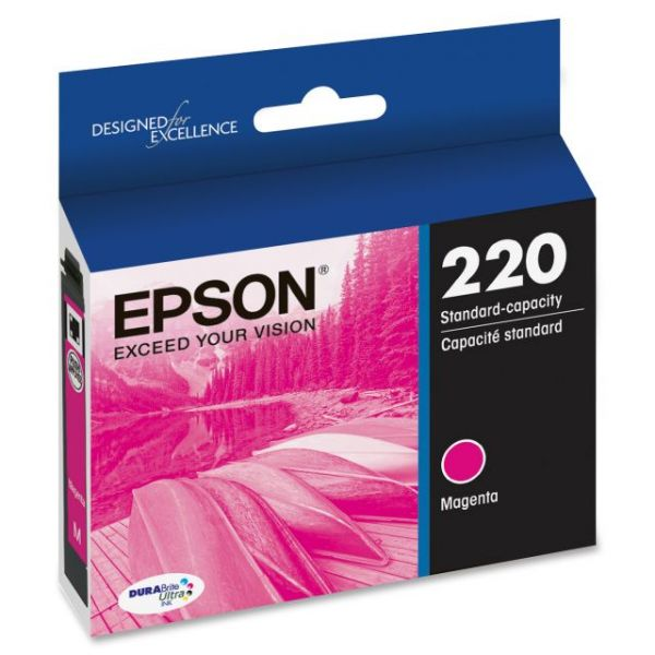 Epson 220 Magenta DURABrite Ultra Ink Cartridge