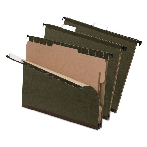Pendaflex Hanging File Folders with Dividers
