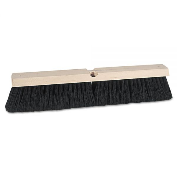 "Weiler Vortec Pro Medium Sweep Floor Brush, Tampico, 24"" Brush"