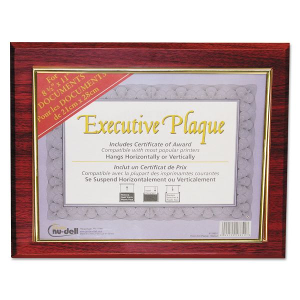 NuDell Executive Picture/Certificate Frame