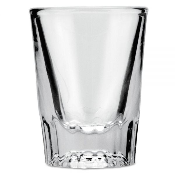 Anchor Whiskey Shot Glass, 2 oz, Clear, 48/Carton