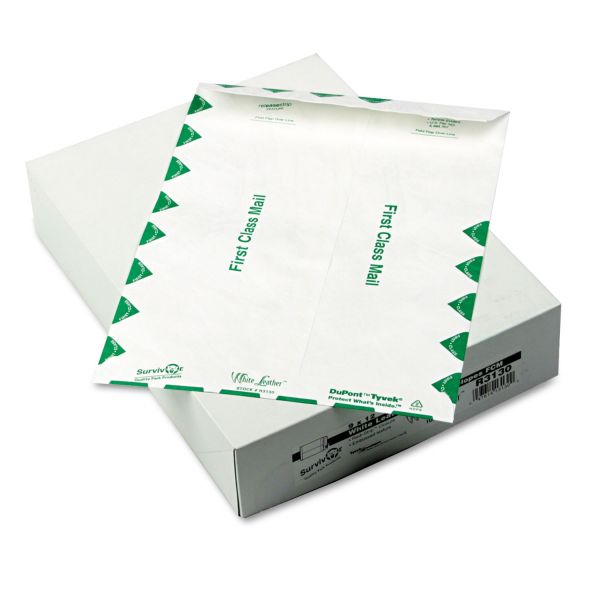 "Quality Park9"" x 12"" First Class Tyvek Envelopes"