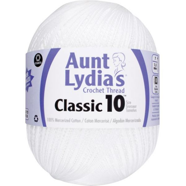 Aunt Lydia's Jumbo Classic Crochet Thread