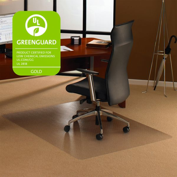 Cleartex Rectangular High Pile Chair Mat