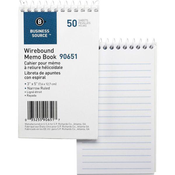 Business Source Memo Notebook