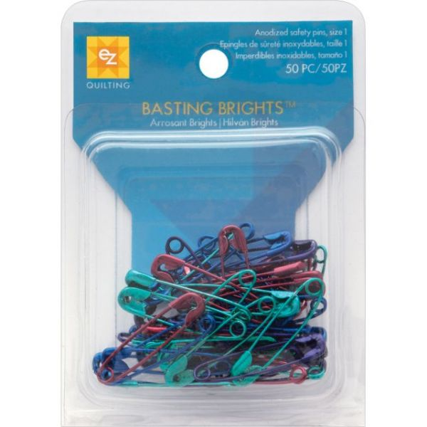 Basting Brights Safety Pins