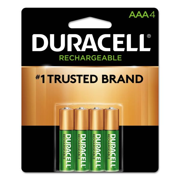 Duracell Rechargeable AAA Batteries