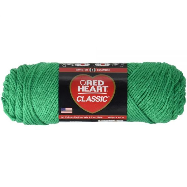Red Heart Classic Yarn - Emerald