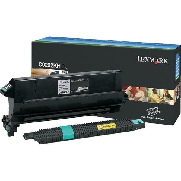 Lexmark C9202KH Black Toner Cartridge with Oil Coating Roller
