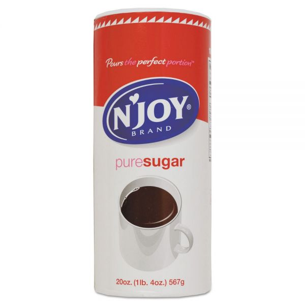 N'Joy Pure Sugar Cane, 20 oz Canister