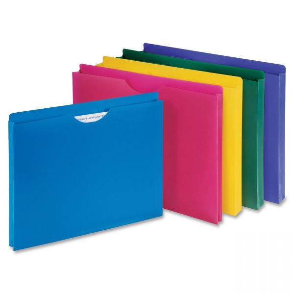 Sparco Poly File Jackets