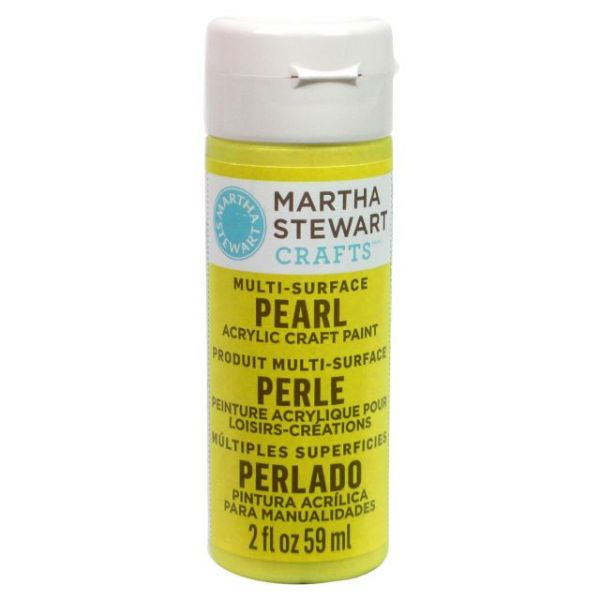 Martha Stewart Pearl Glitter Craft Paint
