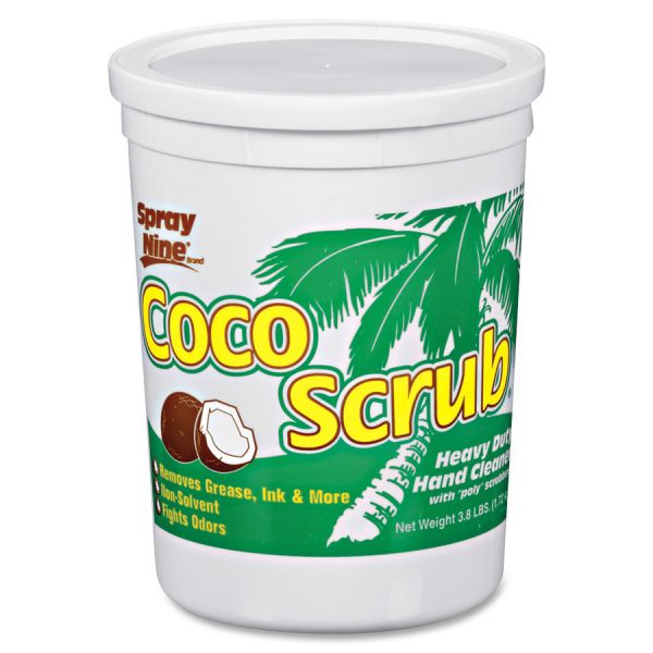 Spray Nine Coco Scrub Industrial Strength Hand Cleaner