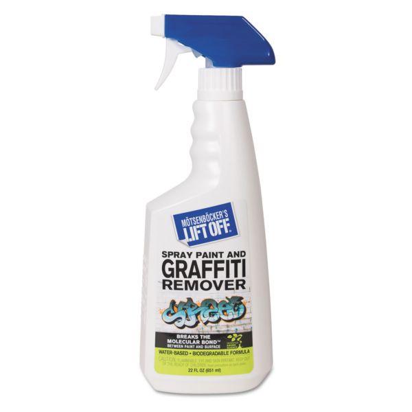 Motsenbocker's Lift-Off No. 4 Spray Paint Graffiti Remover, 22oz Trigger Spray, 6/CT