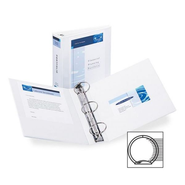 "Avery Economy Reference 3"" 3-Ring View Binder"