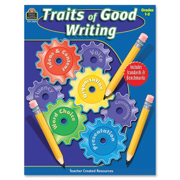 Teacher Created Resources Traits of Good Writing, Grades 1-2, 144 Pgs