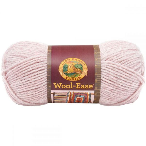Lion Brand Wool-Ease Yarn - Blush Heather