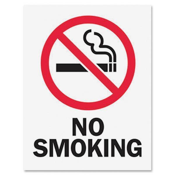 Tarifold Magneto Safety Sign Inserts-No Smoking