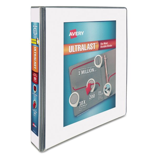 "Avery UltraLast 1 1/2"" 3-Ring View Binder"