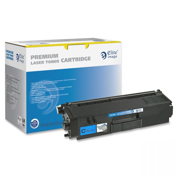 Elite Image Remanufactured Brother TN315C Toner Cartridge
