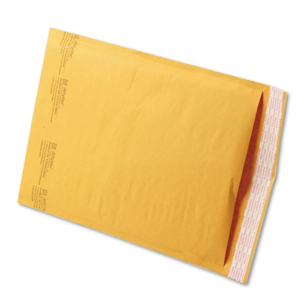 Sealed Air Jiffylite Self Seal Mailer, #4, 9 1/2 x 14 1/2, Golden Brown, 100/Carton