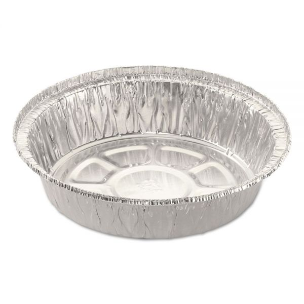 Handi-Foil of America Round Aluminum Takeout Containers