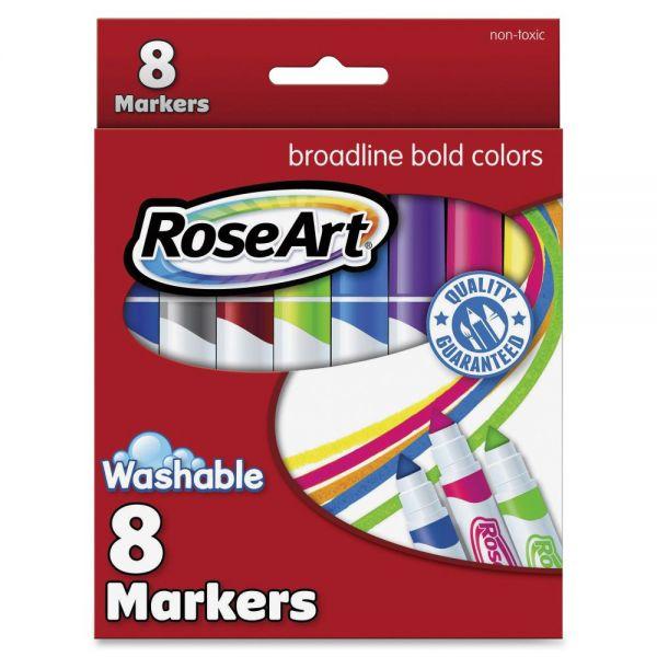 RoseArt Broadline Washable Markers