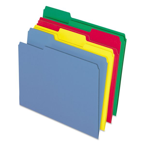 Pendaflex CutLess/WaterShed Colored File Folders