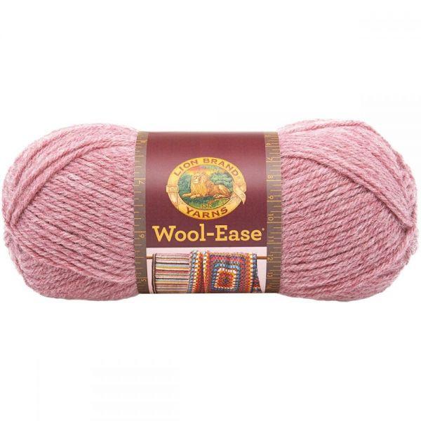 Lion Brand Wool-Ease Yarn - Rose Heather